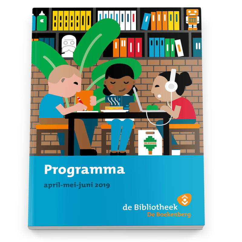 Ontwerp en opmaak programmaboekje Boekenberg