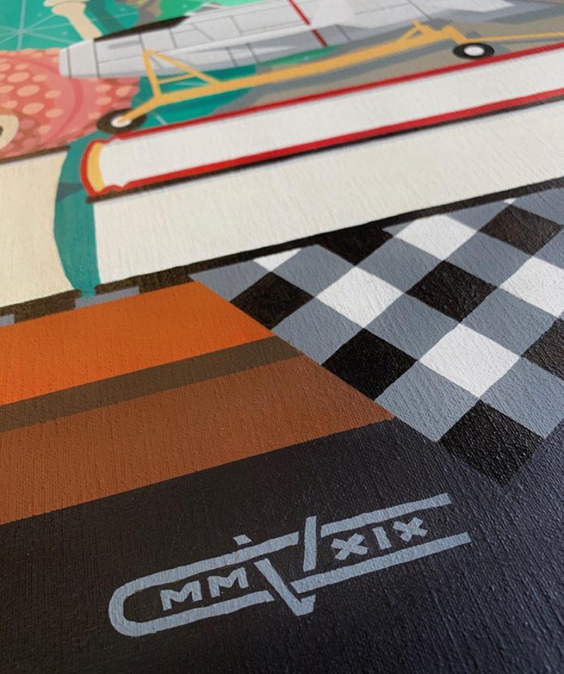 Vanitas / acryl op canvas
