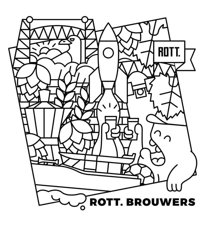 T-shirt Rott.Brouwers