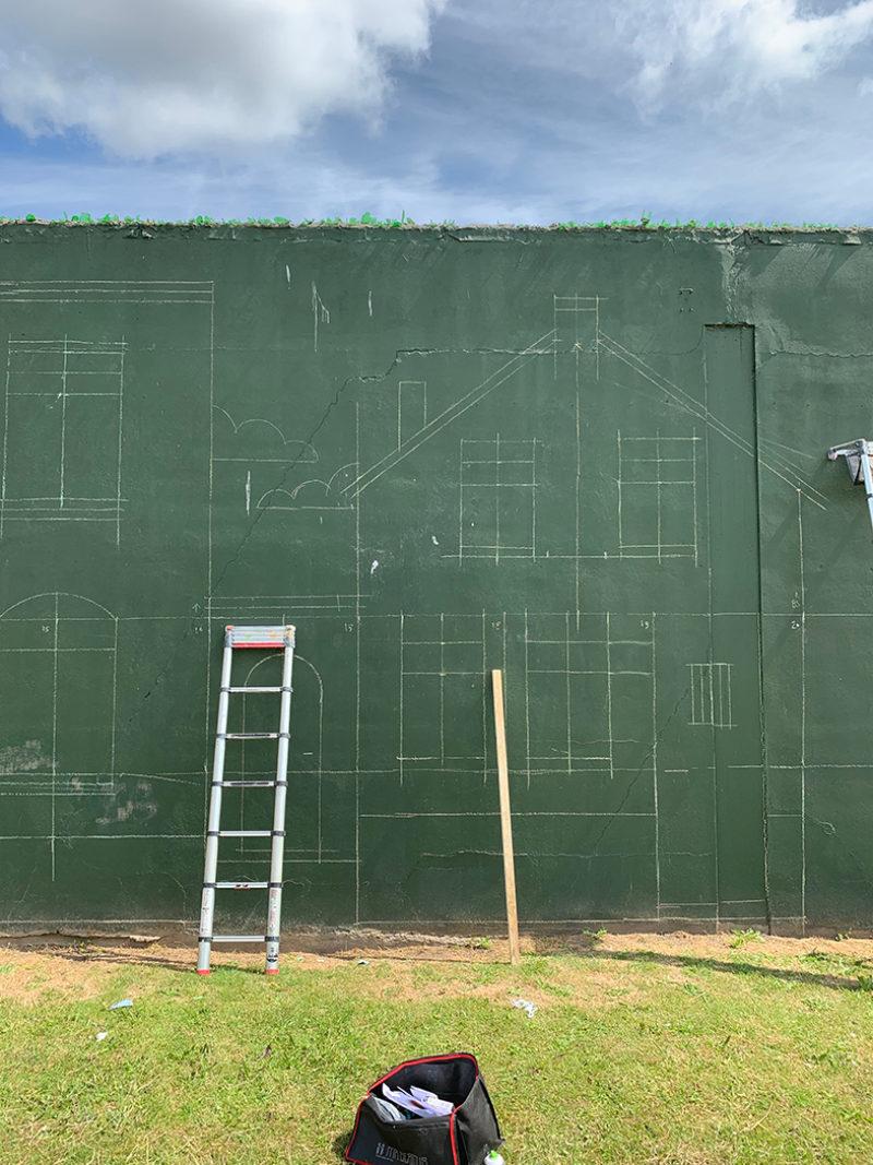 muurschildering Schiedam / Rewriters 010